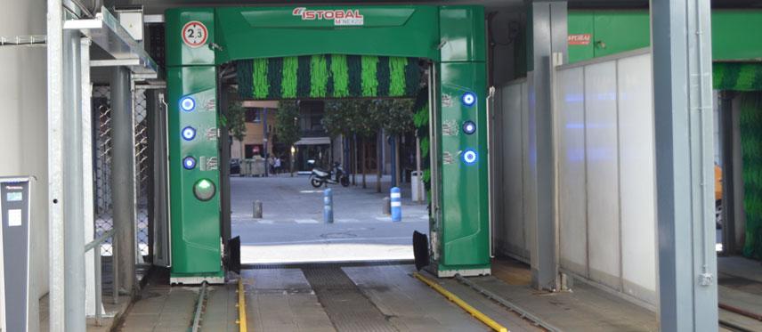 autolavado coches en gasolineras BP centro Talavera