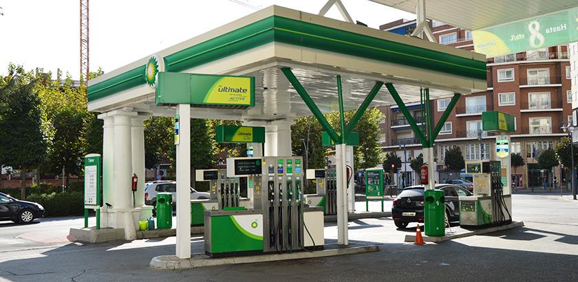 Gasolineras BP en Talavera