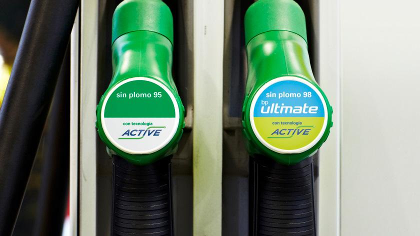 gasolina sin plomo bp