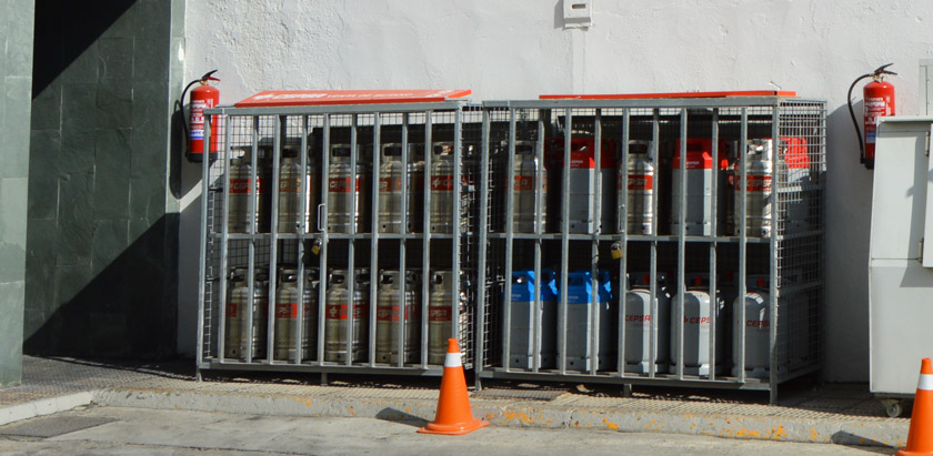 bombonas-gas-Talavera-Estación de servicio BP