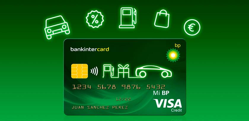 tarjeta Visa BP con descuentos y puntos